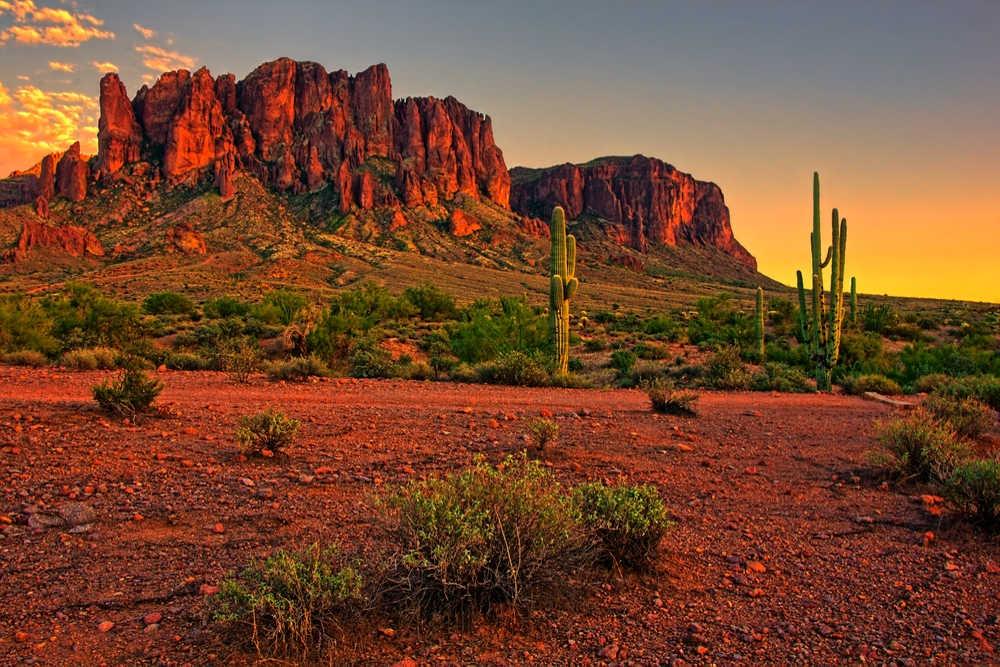 Arizona – du 08 au 30 juillet